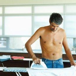 Distinctive men can iron