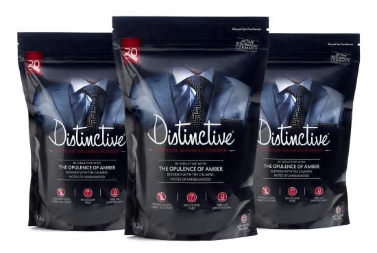 3 packs of worlds first Masculine detergent