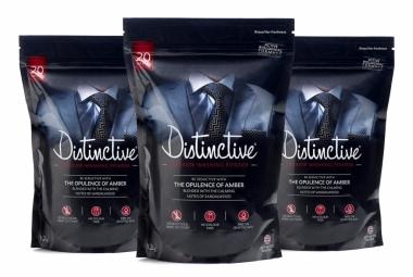 3 packs of Distinctive Superior washing Powder - Masculine fragrance
