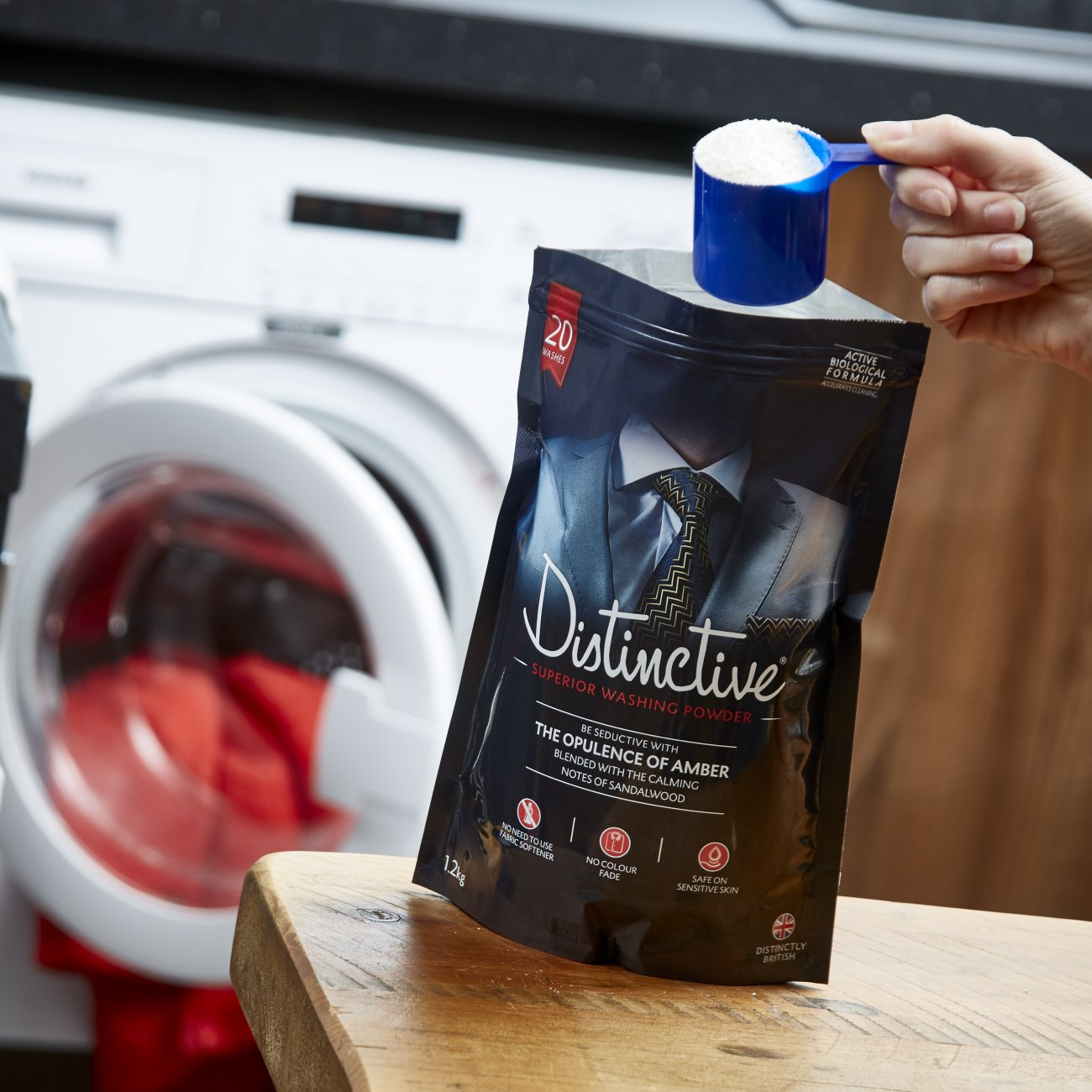 Distinctive Washing Powder perfect with all washing machines