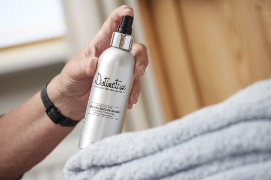 Try our fabric spray in bedrooms and bathrooms too